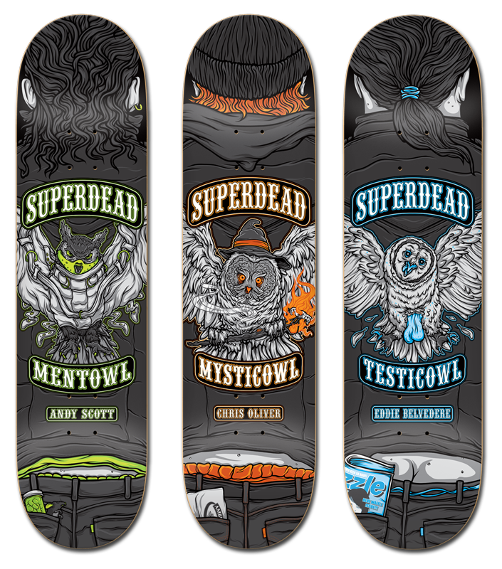 Professionowls Skateboards